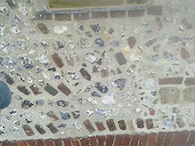 Brickwork & flintwork repairs