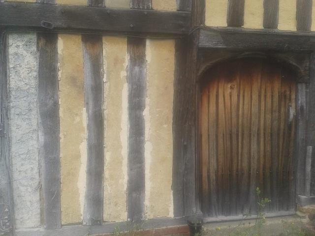 Damaged rendered panels