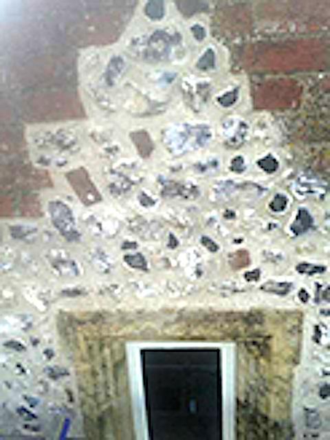 Repair of flint work